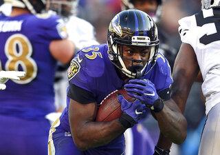 Running Ravens Football