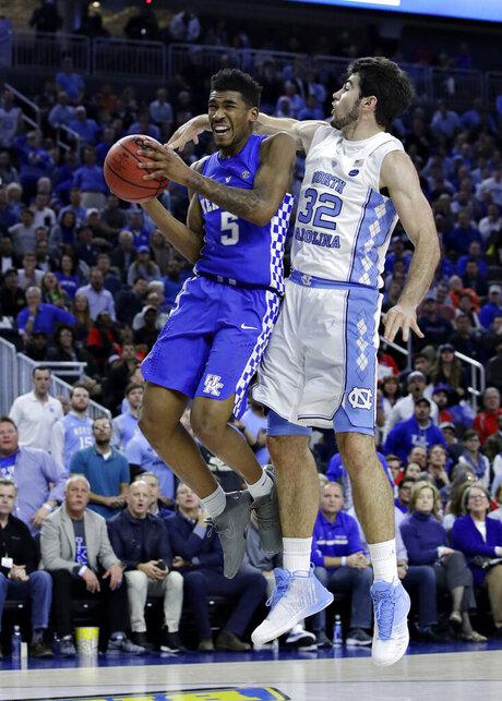 Kentucky North Carolina Basketball