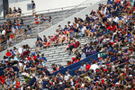 In this Sept. 8, 2018, photo, empty seats can be seen at Vaught-Hemingway Stadium at Mississippi, during their home opener against Southern Illinois, in Oxford, Miss. The SEC saw a drop of more than 2,400 fans per game last season, which was the biggest decline of any Power Five conference. (AP Photo/Rogelio V. Solis)