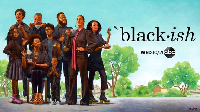 This image released by ABC shows artwork by Kadir Nelson, showing the cast of