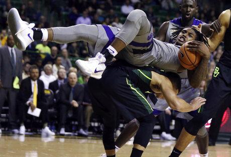 APTOPIX Kansas St Baylor Basketball