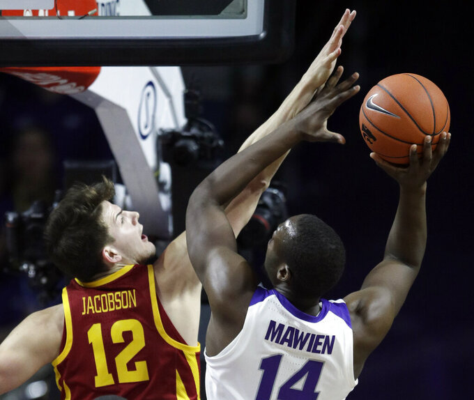 No. 23 Iowa St's 3-point barrage beats No. 18 K-State, 78-64