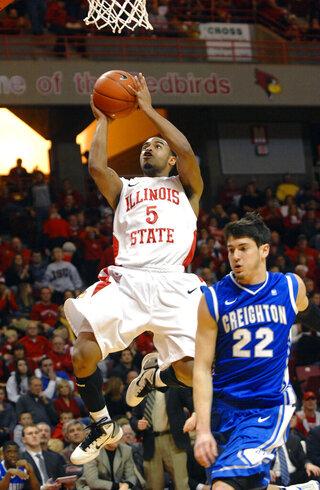 Creighton Illinois St Basketball