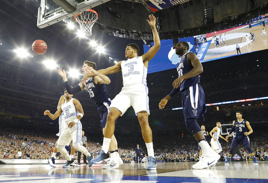 NCAA Villanova North Carolina Final Four Basketball