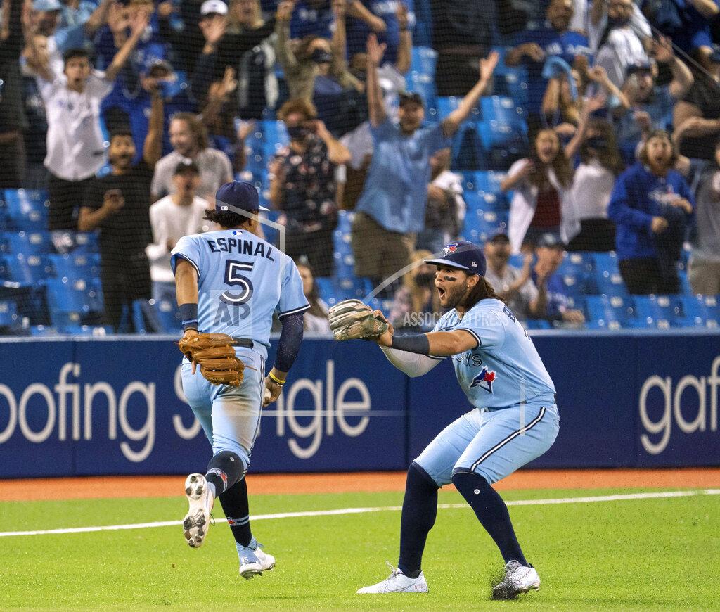 APTOPIX Royals Blue Jays Baseball