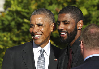 Barack Obama, Kyrie Irving