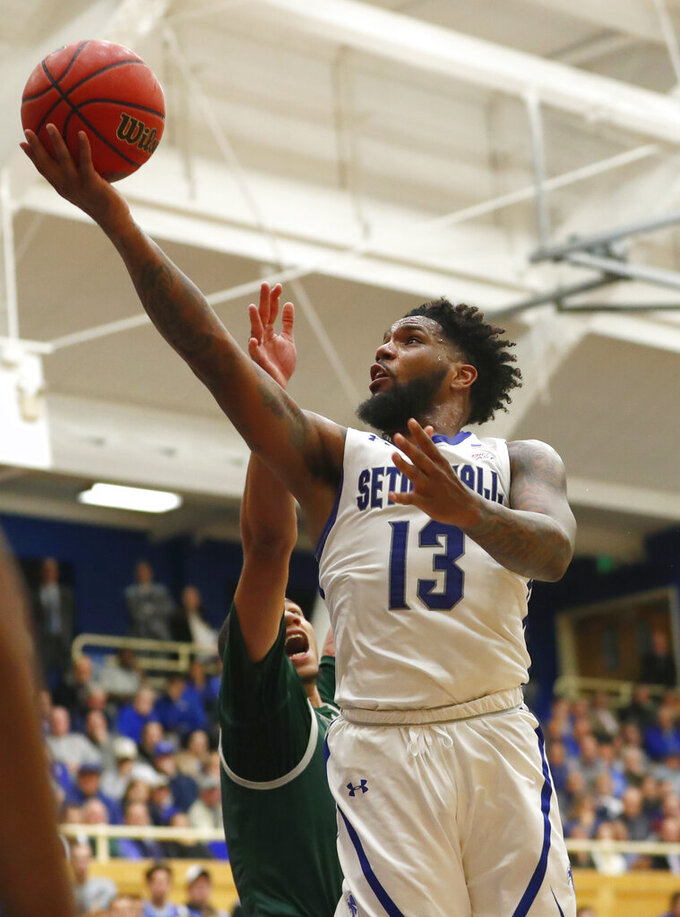 Powell scores 27, leads No. 12 Seton Hall past Wagner 105-71