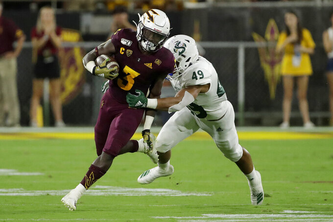 No. 18 Michigan State set for rematch with Arizona State