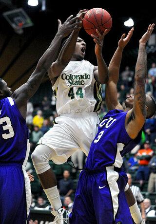 Colorado St TCU Basketball