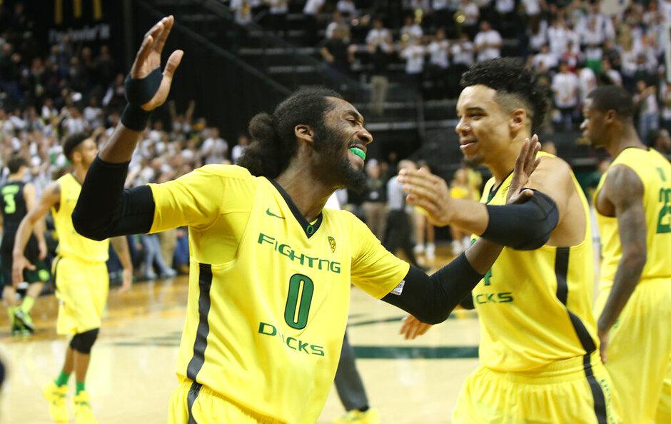 Baylor Oregon Basketball