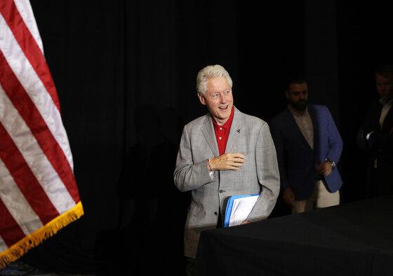 Campaign 2016 Bill Clinton