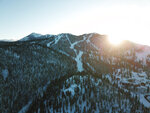 In this photograph provided by Heavenly Mountain Resort, snow covers a mountain at Heavenly Mountain Resort Saturday, Dec. 7, 2019, in South Lake Tahoe, Calif. (Cody Blue/Heavenly Ski Resort via AP)