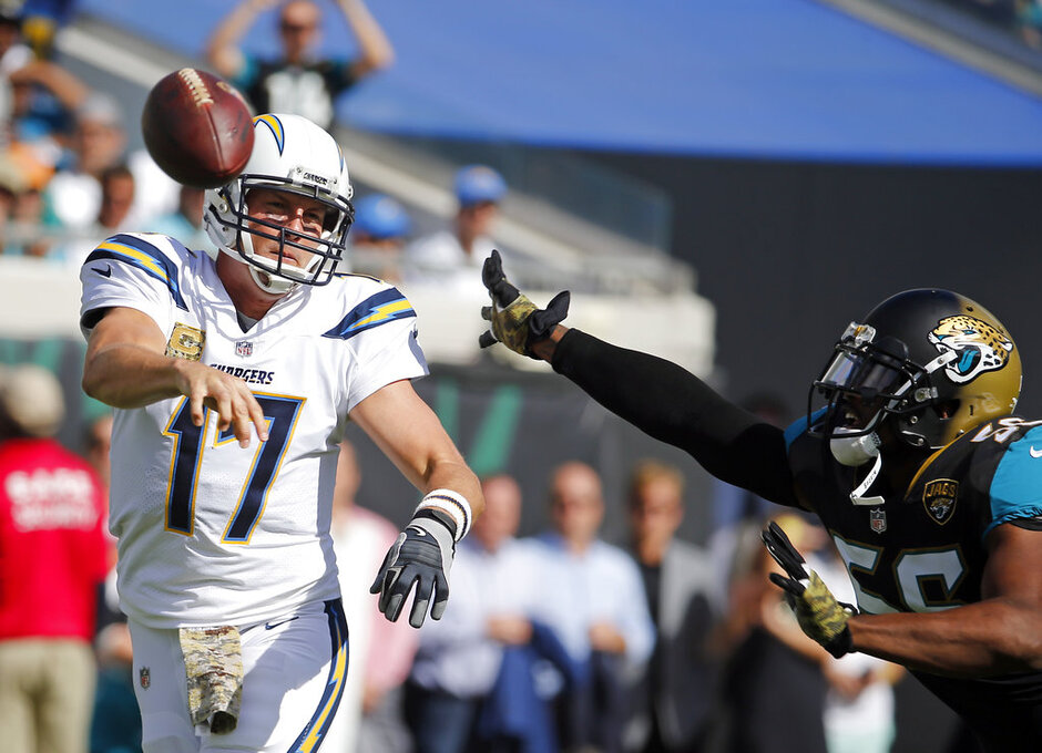 Philip Rivers, Dante Fowler Jr.,