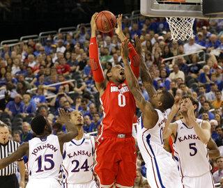 NCAA Final Four Kansas Ohio St Basketball