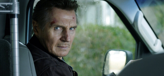 This image released by Open Road Films shows Liam Neeson in a scene from