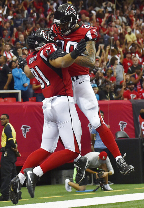 Panthers Falcons Football