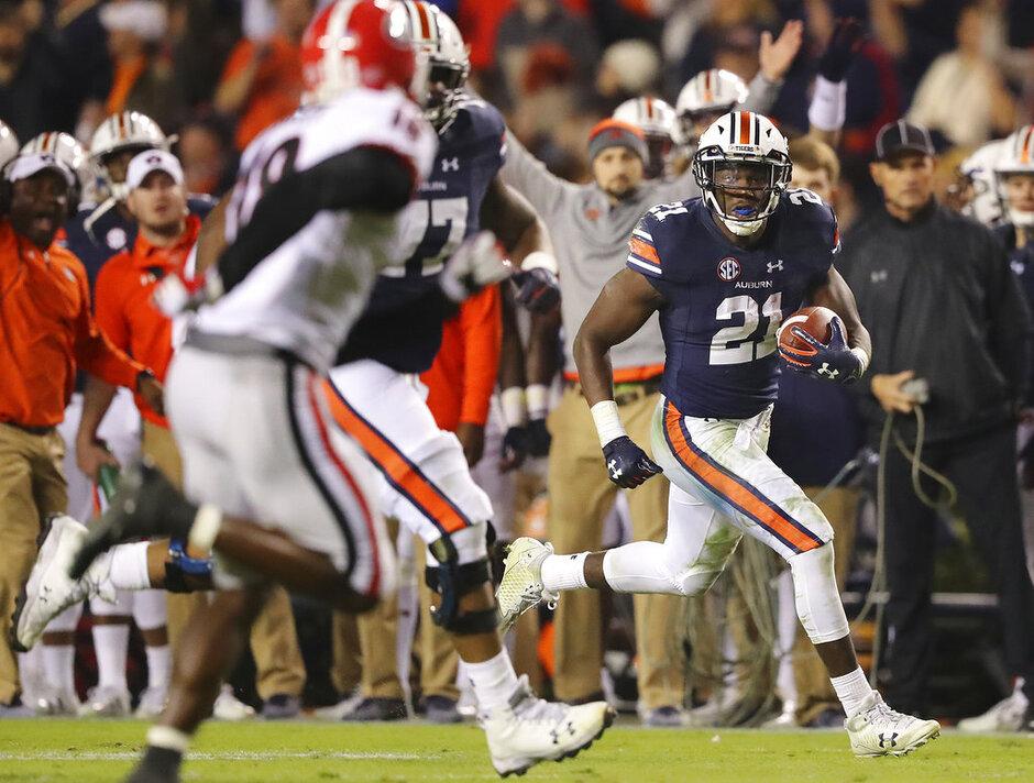 Georgia Auburn Football