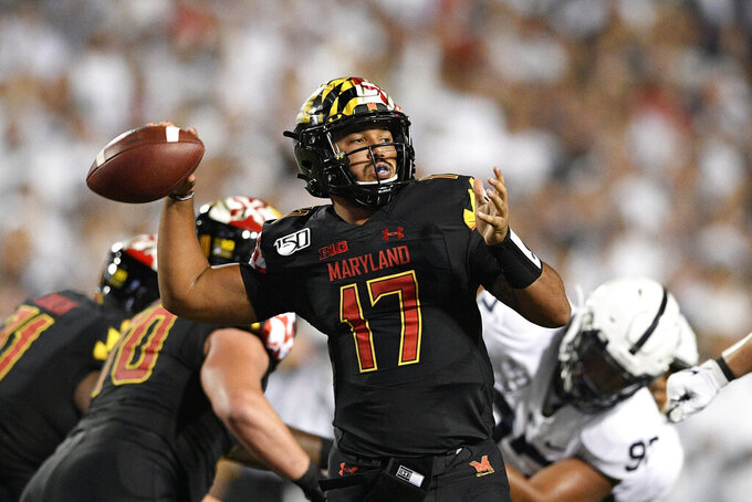 Pigrome takes another ride on Maryland quarterback carousel