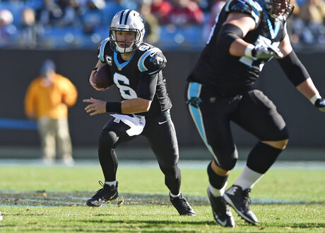 Panthers-Quarterbacks Football