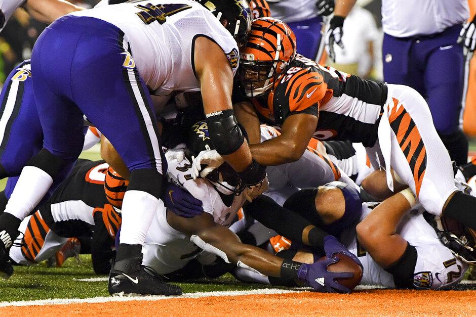 APTOPIX Ravens Bengals Football