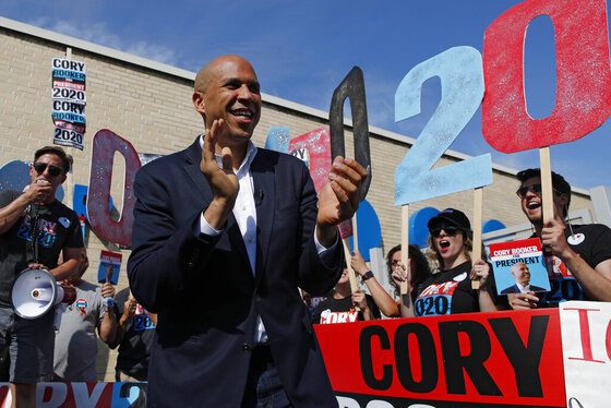 Election 2020 Booker Watershed Scandal