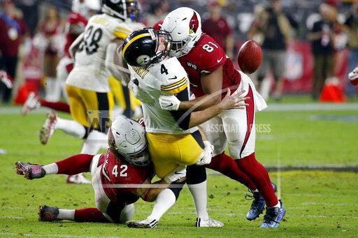 APTOPIX Steelers Cardinals Football