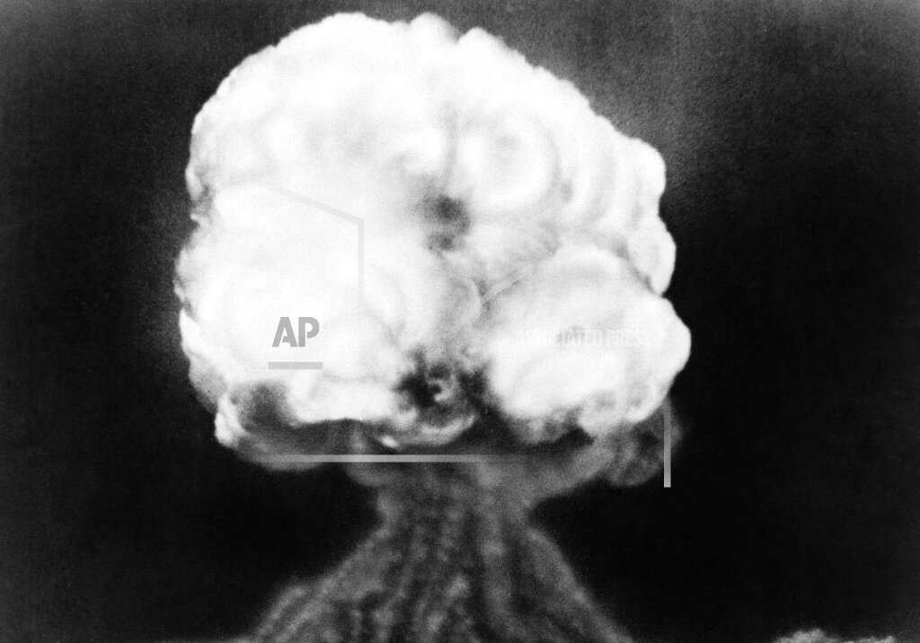 Watchf Associated Press Domestic News  New Mexico United States APHS206767 WWII Atomic Bomb Test 1945