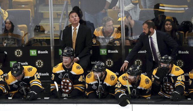 Year of parades ends in Boston with Bruins' Stanley Cup loss