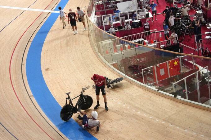 Danish pursuit team courting controversy at Tokyo Olympics