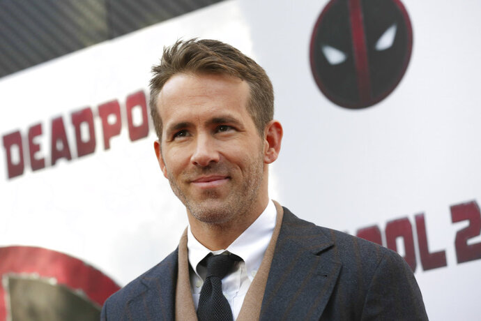 FILE - In this May 14, 2018 file photo, actor-producer Ryan Reynolds attends a special screening of his film,