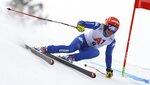 Italy's Federica Brignone speeds down the course during an alpine ski, women's World Cup super-G, in Bad Kleinkirchheim, Austria, Saturday, Jan. 13, 2018. (AP Photo/Marco Trovati)