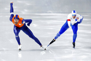 APTOPIX Pyeongchang Olympics Speed Skating Men