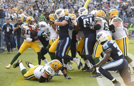 Packers Titans Football