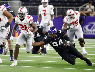 APTOPIX Ohio State TCU Football