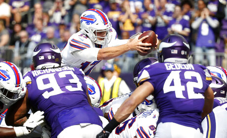 Bills Vikings Football