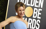 Renee Zellweger arrives at the 77th annual Golden Globe Awards at the Beverly Hilton Hotel on Sunday, Jan. 5, 2020, in Beverly Hills, Calif. (Photo by Jordan Strauss/Invision/AP)