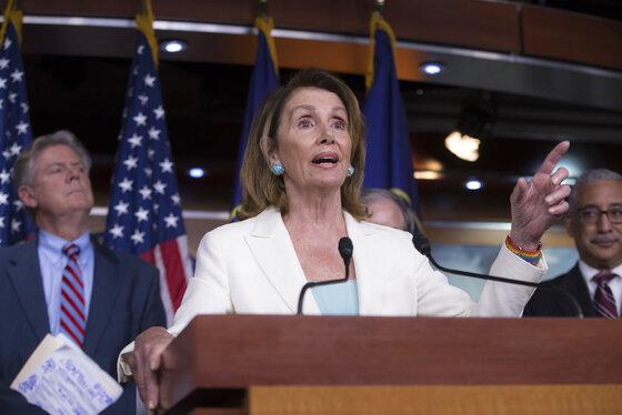 Nancy Pelosi, Frank Pallone, Bobby Scott