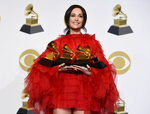 Kacey Musgraves, winner of the awards for best country album for
