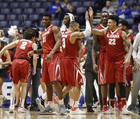 SEC Alabama South Carolina Basketball