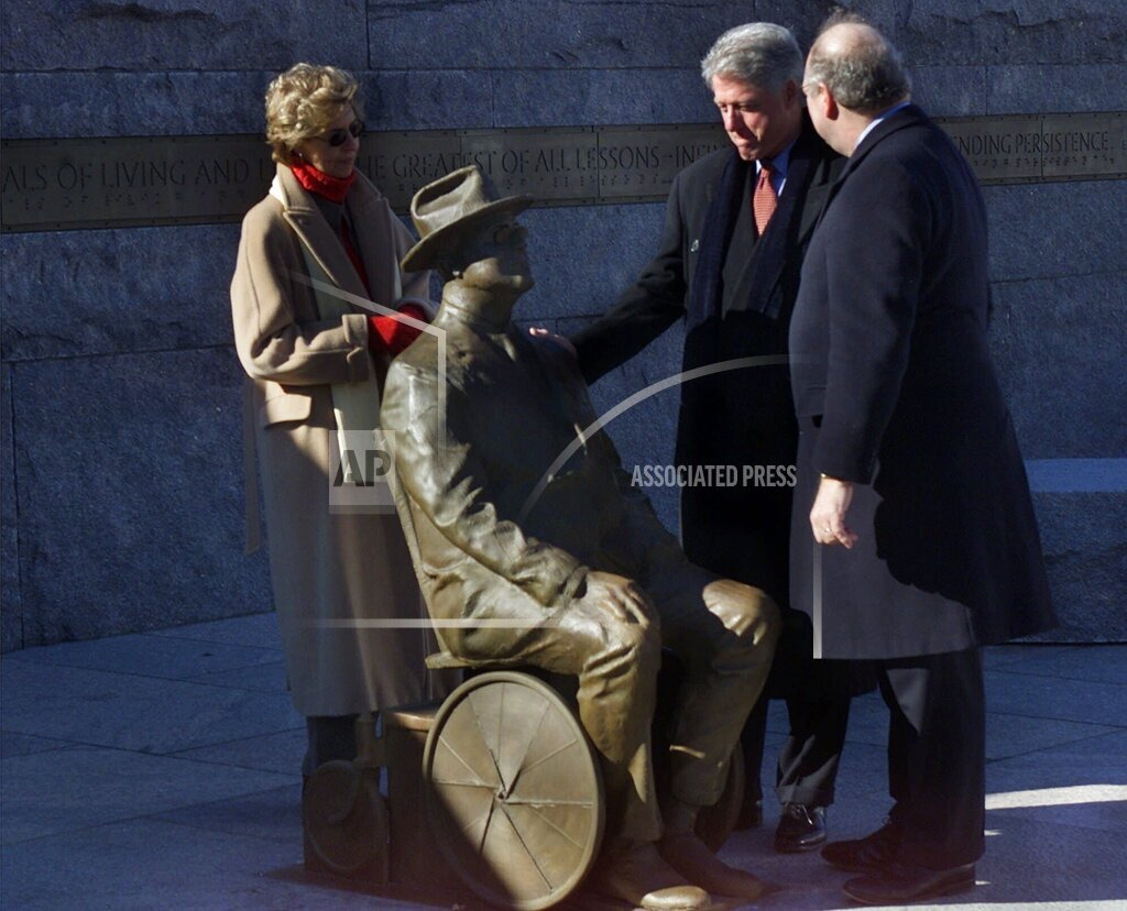Associated Press Domestic News Dist. of Columbia United States FDR WHEELCHAIR
