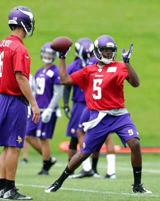 Teddy Bridgewater, Matt Cassel
