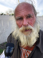This 2011 photo released by the University of Maryland via the Howard Center for Investigative Journalism, shows Kenneth Shultz, who has spent one of every three days in jail, often for sleeping in public, since he became homeless in Fort Walton Beach, Fla. (Ryan Little/University of Maryland via AP)