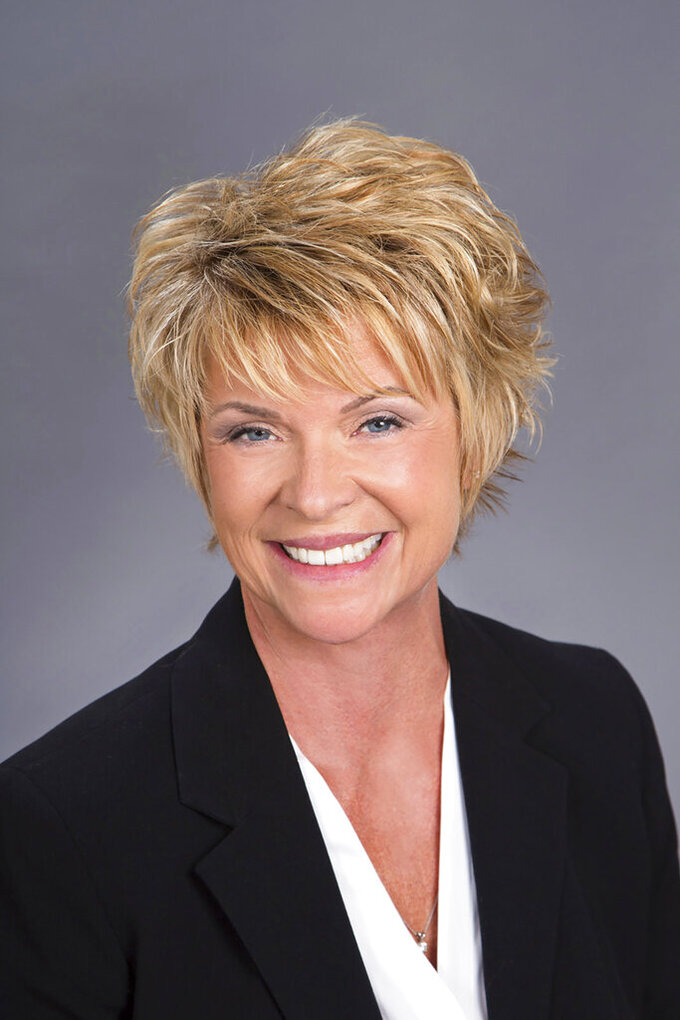 Kathleen Ormsby is seen in this undated photo she provided to The Associated Press. Sacramento-based Sutter Health agreed to pay $90 million in a final settlement of claims alleging that it defrauded the federal Medicare program, an official said Monday, Aug. 30, 2021. The civil settlement resulted from a 2015 False Claims Act whistleblower complaint by Ormsby, a former employee of the Palo Alto Medical Foundation, one of the Sutter affiliates in the settlement. (Clayton J. Mitchell Photography/Courtesy of Kathleen Ormsby via AP)