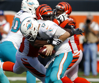 Bengals Geno Sacks Football