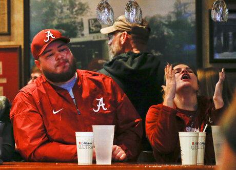 Playoff Championship Alabama Reax Football