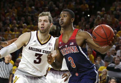 Arizona Arizona St Basketball