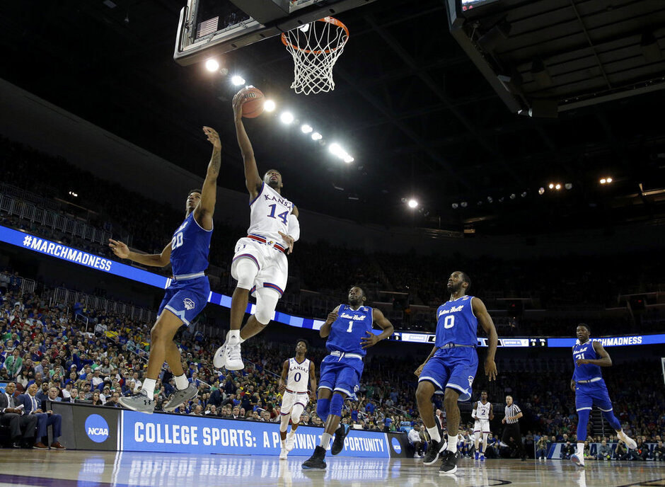 NCAA Seton Hall Kansas Basketball