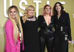 Avril Lavigne, Rebel Wilson, Meghan Trainor and Anne Hathaway arrive at the Los Angeles premiere of