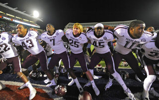 Texas A M Mississippi Football
