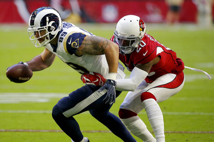 Cardinals release Brock, Zenner after loss to Rams